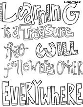 all quotes coloring pages I saw i misspelling so check carefully before giving to students