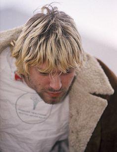Kurt Cobain, at Reading, August 30, 1992