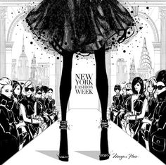 Limited Edition Print - New York Fashion Week 3