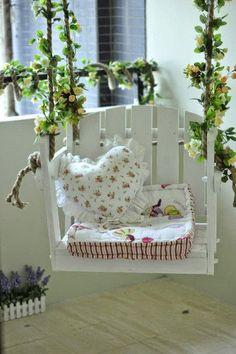 Cute little swing chair