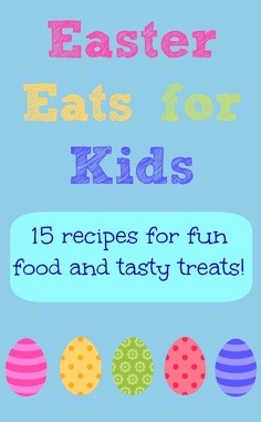 15 great recipes for fun Easter food. Bunny cupcakes, chocolate nests, pancakes rabbits, and more!