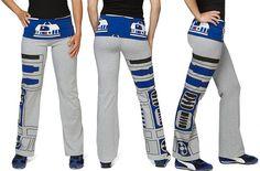 R2-D2 yoga pants - Boing Boing