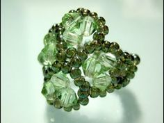 How to bead a Four-Leaf Clover Ring - Part 1