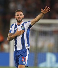 Miguel Layun FC Porto celebrates after scoring the team's second goal during the…