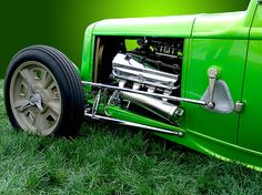Green Hot Rod.  Super bright with several shades of green.  Prints available starting at $17.00.