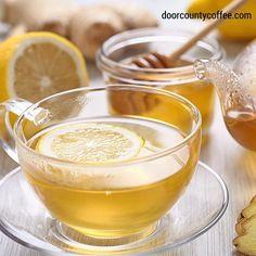 Cup of Harney & Sons Lemon Herbal Tea