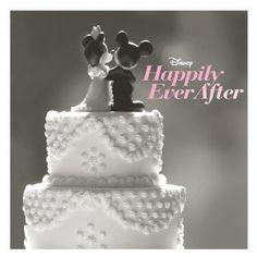 Disney wedding love // I would never get this cd but the cover is SO CUTE!