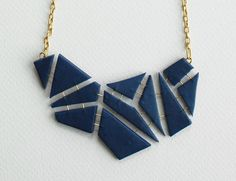 geometric molds necklace - Google Search