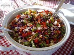 ΠΟΛΙΤΙΚΗ ΣΑΛΑΤΑ – Koykoycook Dips, Guacamole, Potato Salad, Salad Recipes, Recipies, Food And Drink, Cooking Recipes, Lunch, Ethnic Recipes