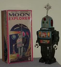 1950s Japanese robot toy