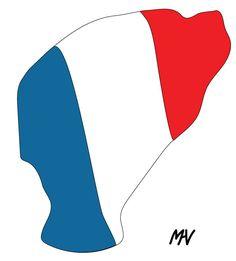 Liberté égalité fraternité We must fight for love and peace against fanatism | Café bar la slavia