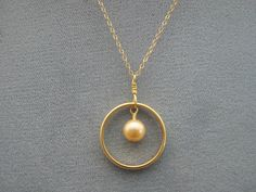Wedding ring pendant  If you have a similar band ring or open circle that you want to remake into a simple pendant, here's how