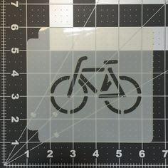 Bike Stencil 100 by KatoBakingSupplies on Etsy