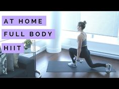 Full Length At Home HIIT Workout - 46 Minutes - YouTube