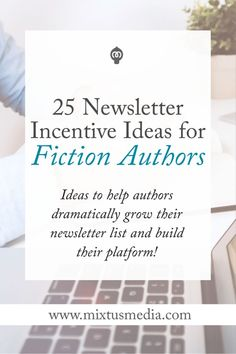 Incentives or opt-ins are one of the best ways to grow an author list. Here are 25 ideas that fiction authors can run with to dramatically grow their list and build their platform! Fiction Writing, Writing Advice, Writing Resources, Writing Help, Writing A Book, Writing Prompts, Writing Ideas, Editing Writing, Writing Worksheets