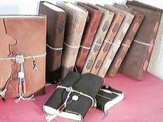 Handmade Books, Art of Book Binding, Paper Craft, Beads and Silk Threads, Pillow Book, Handcraft, Elegant Living, Arts and Craft, Craftsman, Eloquent Objects, Book Art