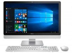 """Computador All in One Dell Inspiron 24 Série 3000 - Intel Core i5 Windows 10 8GB 1TB 23,8"""" HDMI"""