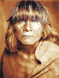 Hopi Man, photo by Edward S. Curtis