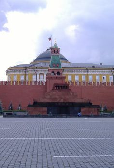 Lenin's Tomb in the Red Square - Moscow, Russia