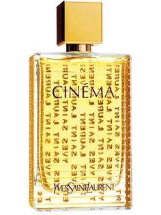 """Cinema Yves Saint Laurent for women. This one is calm, sophisticated, and elegant. Nothing will jump out and overwhelm you. It just simply """"is"""" and adds a bit of gravitas to the wearer. Seriously a great perfume for the office, a job interview, or a gathering with a lot of people present."""