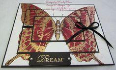 White amorosos papel x 4 en Tinta Jet Raspbe Staz Swallowtail almohadilla tinta Tamaño Sellos 5 Whisper Papel Pensamientos Basic Black de de OEXx7qav