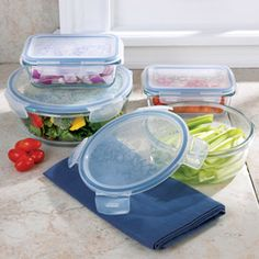 Lock & Lock Glass containers are now available @CHEFS Catalog