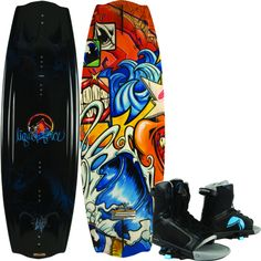 Liquid Force Trip Wakeboard With Bindings