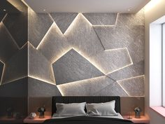 Evolve India specialises in Metal and Concrete textured finishes. Which will applied interior & exterior surfaces, furniture, artefcats and decor products. Modern Luxury Bedroom, Luxury Bedroom Design, Bedroom Closet Design, Bedroom Furniture Design, Home Room Design, Luxurious Bedrooms, Bedroom Decor, Wall Texture Design, Feature Wall Design
