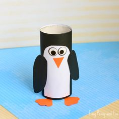 Any penguin lovers around? We're making this adorable paper roll penguin craft today – you can use toilet paper roll, kitchen towel rolls or even buy the craft rolls to use for crafting. This one will be both fun to make and to play with. *this post contains affiliate links* Paper Roll Penguin Craft What …