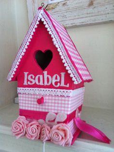 """Isabel, leuk met de naam erop of """"home""""."""