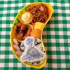 posted by @namimocchi 本日の学童弁当#ポケモン #ラプラス #キャラ弁 #obento...
