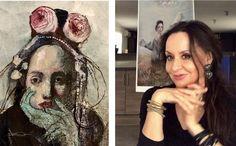 in studio -Katarína Vavrová