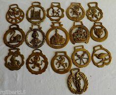 Horse Brass Sixteen Piece Lot