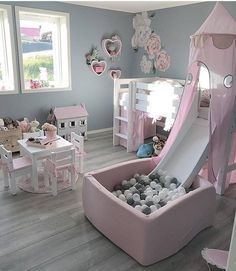 Kids Bedroom Ideas for Small Rooms You Should Try Now Toddler bedroom, big girl bedroom, little girl bedroom. Gallery wall library toysToddler bedroom, big girl bedroom, little girl bedroom. Baby Bedroom, Baby Room Decor, Nursery Room, Baby Girl Bedroom Ideas, Toddler Bedroom Ideas, Trendy Bedroom, Gurls Bedroom Ideas, Bedroom Ideas For Small Rooms For Girls, Box Room Bedroom Ideas