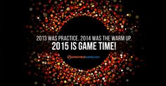 Total Global Network Marketing Sales... 2012: $167 Billion 2013: $178 Billion 2014: The Warm Up... 2015: GAME TIME!  Let's make history together – let's make 2015 a $200 BILLION YEAR.  Network Marketing offers anyone – regardless of their background, age, race, sex, education, social status, income, past success or failure – the opportunity to make 2015 their best year ever!  Here's to 2015 being YOUR BEST YEAR EVER! #NetworkMarketing
