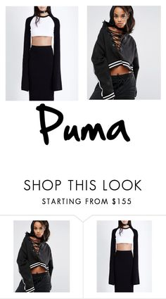 """""""⚫️⚪️"""" by kirillsaygin ❤ liked on Polyvore featuring Puma"""
