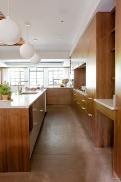 """A leader in the semi-custom category is Henrybuilt, a Seattle-based maker of stripped-down case goods that reference Scandinavian modernism, Japanese wabi-sabi (a philosophy that values the natural beauty of imperfection) and classical millwork in equal measure."" via 07/2013 WSJ Design: The New Kitchen Design Trend: Wood Minimalism (five ways to get it—from Henrybuilt to IKEA)"