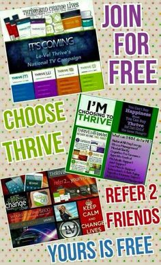 Join my team become a promoter and start thriving for free