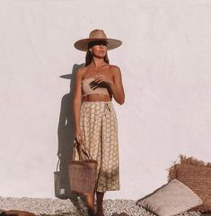 really cute outfits Style Outfits, Outfits With Hats, Summer Outfits, Cute Outfits, Fashion Killa, Passion For Fashion, Spring Summer Fashion, Dress To Impress, Boho Fashion