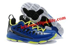 2a5b5308623 Jordan CP3.VIX Chris Paul Shoes Blue Fluorescent Yellow Jordan Shoes  Online