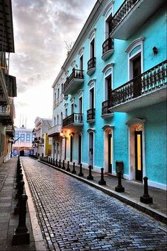 Old San Juan, Puerto Rico - Explore the World with Travel Nerd Nici, one Country at a Time. http://TravelNerdNici.com