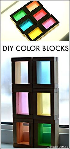 DIY Color Blocks for Kids