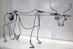 alexander calder figuras de alambre - Buscar con Google