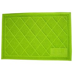 Cat Litter Mat Extra Large 36x24 with Scatter Control - Jumbo Xl Size Catcher Traps Kitty Litter Leaving Box - Soft on Paws - Fun Bright Green - By Two Meows Two Meows http://smile.amazon.com/dp/B013PYK3OK/ref=cm_sw_r_pi_dp_z313wb00QES8D