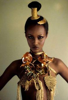 Supermodel ผิวดำคนแรกๆ ต่อจาก Naomi Sims และเราปลื้มเธอมาก