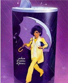 Prince in photo in the style of the Morton& salt package. Prince Quotes, Photos Of Prince, Prince Purple Rain, Baby Prince, Black Love Art, Adore U, Paisley Park, Dearly Beloved, Roger Nelson