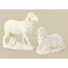 "27"" Scale White Sheep (14"")"