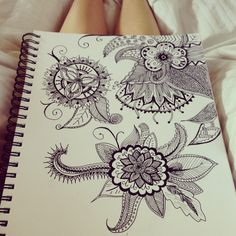 I want an abstract tattoo like these sketches! But I'm probably gonna draw it myself :)