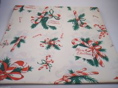 "Vintage Christmas Holiday Gift Wrap Wrapping Paper12 sheets 30"" x 20"" 6 styles 