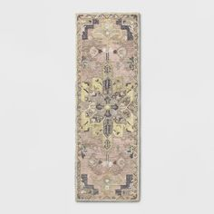 Damask Tufted Vintage Wool Rug - Threshold™ : Target Vintage Wool, Vintage Rugs, Rug Material, Master Closet, Damask, Accent Rugs, Rectangle Shape, Warm Colors, Persian Rug